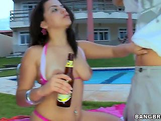 Hi guys! Today we have for you super hot Latina Emilly Sanchez! She loves beer, fucking and tasty...