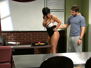 Sexy Cougar Professor Shay Fox Nailed By A Student
