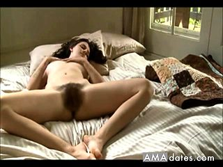 Hairy Pussy Girl's Orgasm