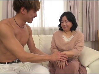 Japanese Mom Fucked By Son's Friend