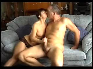 British mature couple