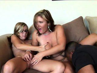 Amazing girls have fun with big cocks