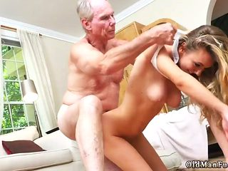 Old Men Ass Licking Molly Earns Her Keep