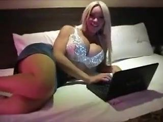 Crazy Amateur Shemale video with Big Tits, Solo scenes