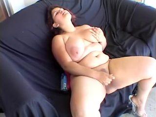 Hottest pornstar Karla Lane in fabulous latina, cumshots adult clip