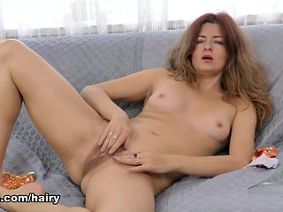 Helen Volga in Hairy Play Movie - ATKHairy