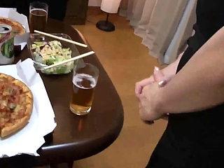 Chubby Japanese Mom Fucked