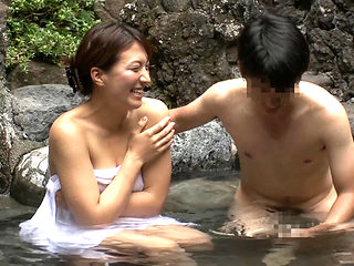 Cuckold Mission In Japanese Onsen Spa 3