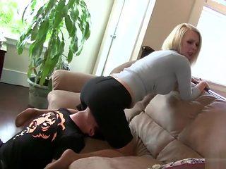 step mom dominates son