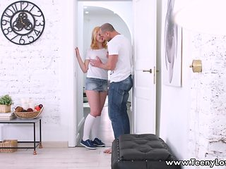 Teeny Lovers - Lolly Small - Lolly wants to fuck so bad