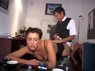 2 secretary doing there boss wishes