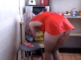 Erotic saleswoman!