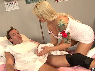 Hot Brooke Haven Plays Nurse With Huge Dick