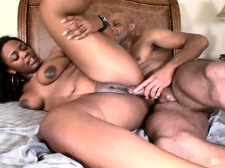 Lonna Rae is proud of her big black ass, and this hung...