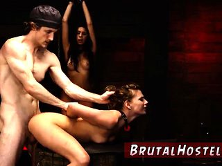 Breast bondage tied tits and girl brutal dildo xxx This