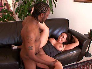 Crazy pornstar Mariah Cherry in best interracial, mature adult scene