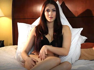 Erotic video with a beautiful brunette in the style of ASMR