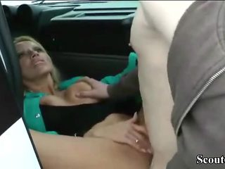 German Mother Seduce Step-Son to Fuck her Anal after School