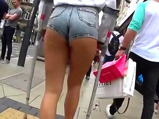 Following that perfect booty wherever it goes