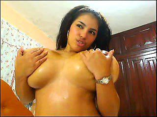Big lactating latin boobs