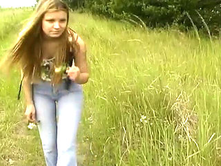 Beautiful Girl Fucking In The Field
