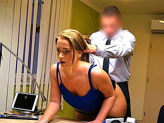 LOAN4K. Upset girl pays with sex to become successful...