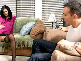 Mandy More & Dan in Mandy More Fucks The Neighbor While He Waits For His Girl - BestGonzo