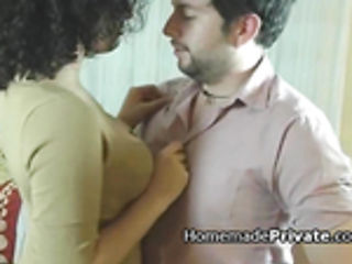 Busty Latina wife cheats with housekeeper