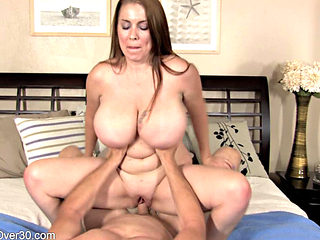 Busty Wife Desiree Pleases Her Man