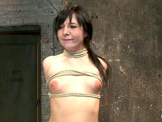 Cute Girl Next Door With Daddy Issues, Get Severely Bound, Brutally Deep Throated. Multiple Orgas...