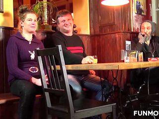 German Amateur Milf blow the homeless