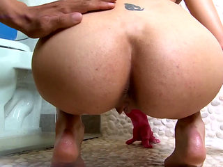 Dirty Stacked Latina Maid Otalia Barrios Craves Cock