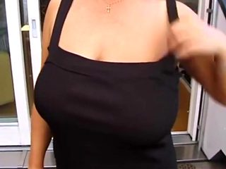Mom brags her tits 1