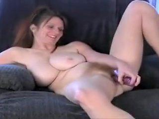 Amazing homemade Big Tits, Dildos/Toys adult clip