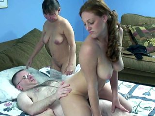 mariah young pussy nasty Threesome with guy