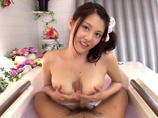 Hottest Japanese girl China Matsuoka in Amazing Blowjob, Big Tits JAV movie