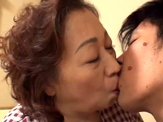 Chubby Asian Granny Getting Fucked