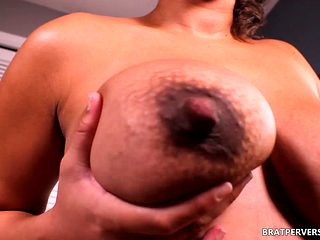 Horny Pregnant Chick Strip her clothes off