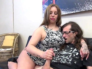 Handjob from mommy always works