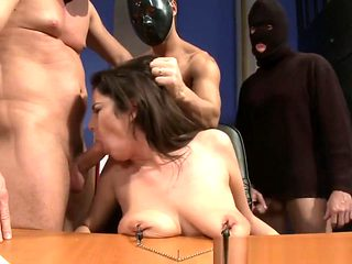 Gangbanged Sub Assfucked And Facialized