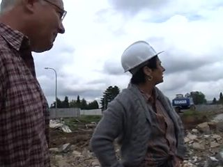 Aged Construction Worker