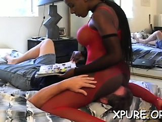 Servitude act with some hawt and rough female domination