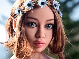 Fantasy sex doll, blowjob anal deepthroat creampie
