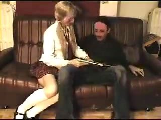 Schoolgirl craves sex lesson part one