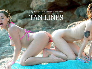 Ally Breelsen & Victoria Traveler in Tan Lines - BabesNetwork