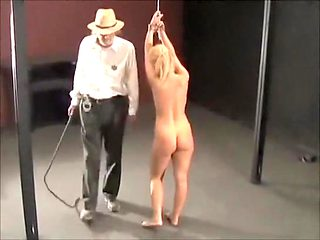 Amazing amateur BDSM, Blonde sex scene
