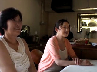Mature Asian Mother And Daughter Getting Fucked