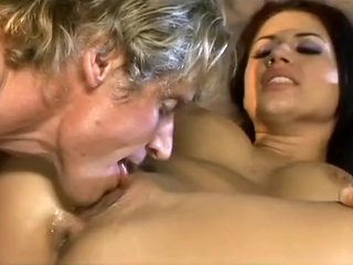 Romantic Whore Gets Cum On Her Face