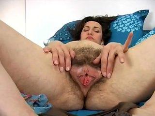 Hottest amateur Solo Girl, Close-up sex movie