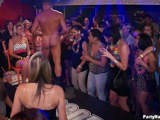 Drunk and naughty swingers get wild as they are fucked hardcore in a POV orgy scene